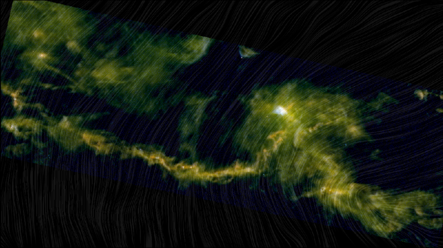 Taurus Molecular Cloud viewed by Herschel and Planck