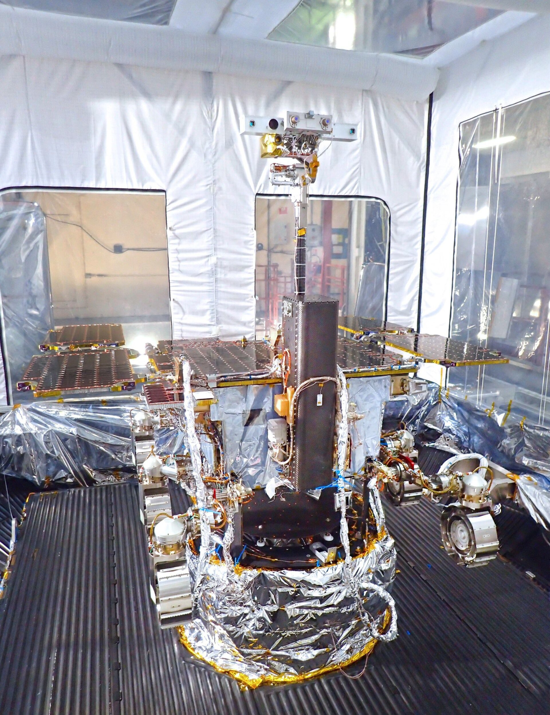 ExoMars rover during environmental tests