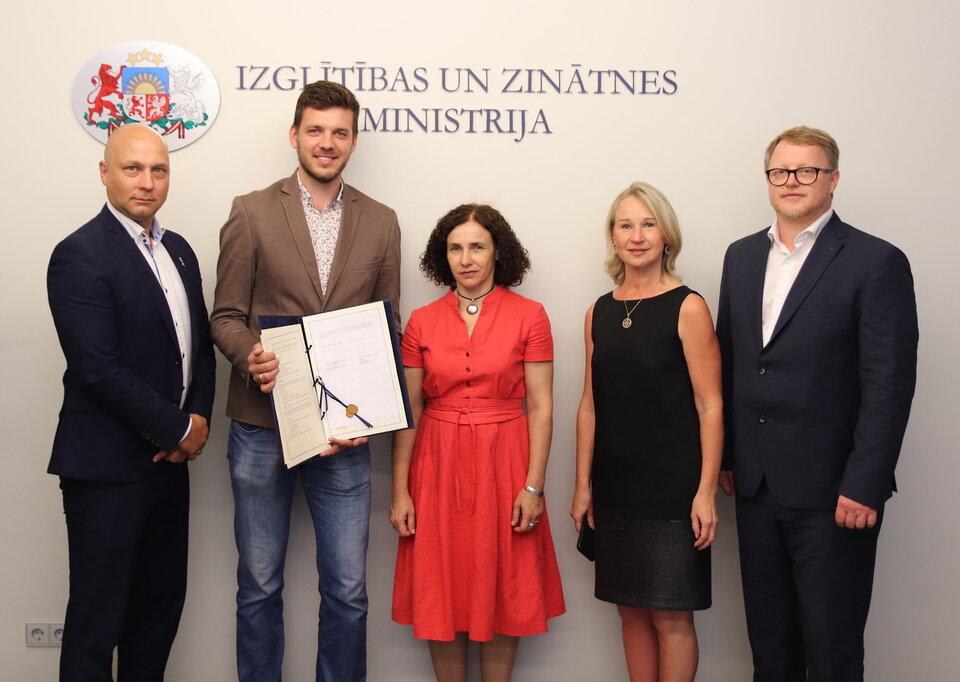 Latvia becomes ESA Associate Member State