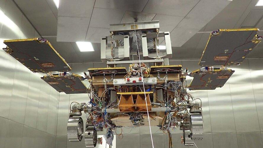 ExoMars during environmental tests