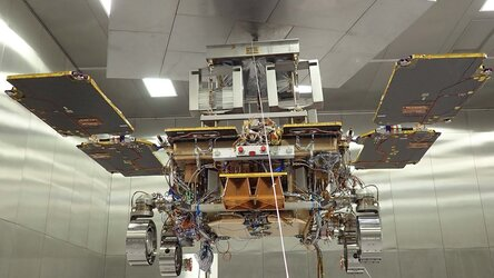 ExoMars during environmental tests