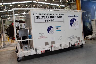 SEOSAT-Ingenio transport container