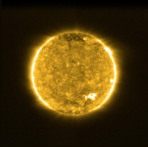 Solar Orbiter's first view of the Sun