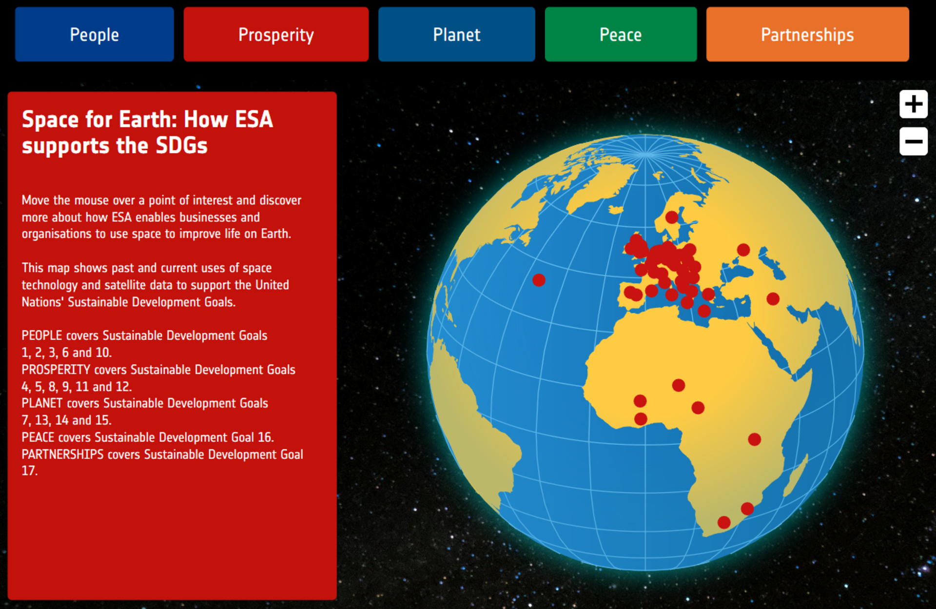 Space for Earth: How ESA supports the SDGs