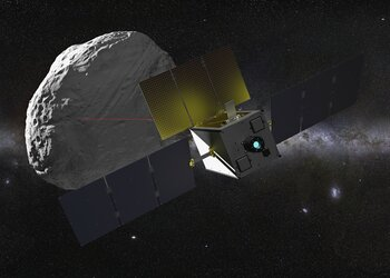 Suitcase-sized asteroid explorer
