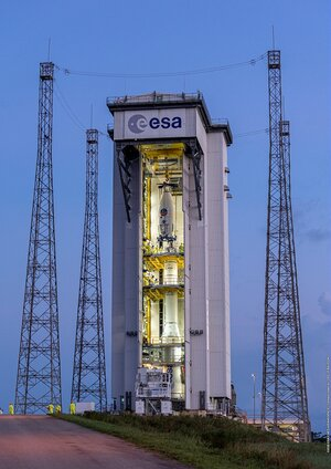 Europe's Spaceport prepares for its first rideshare mission dedicated to multiple light satellites on Vega.