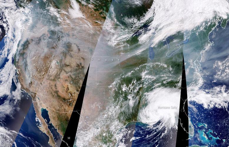 Between smoke and hurricane
