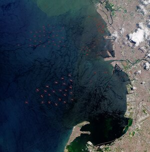 Detection of vessels from space