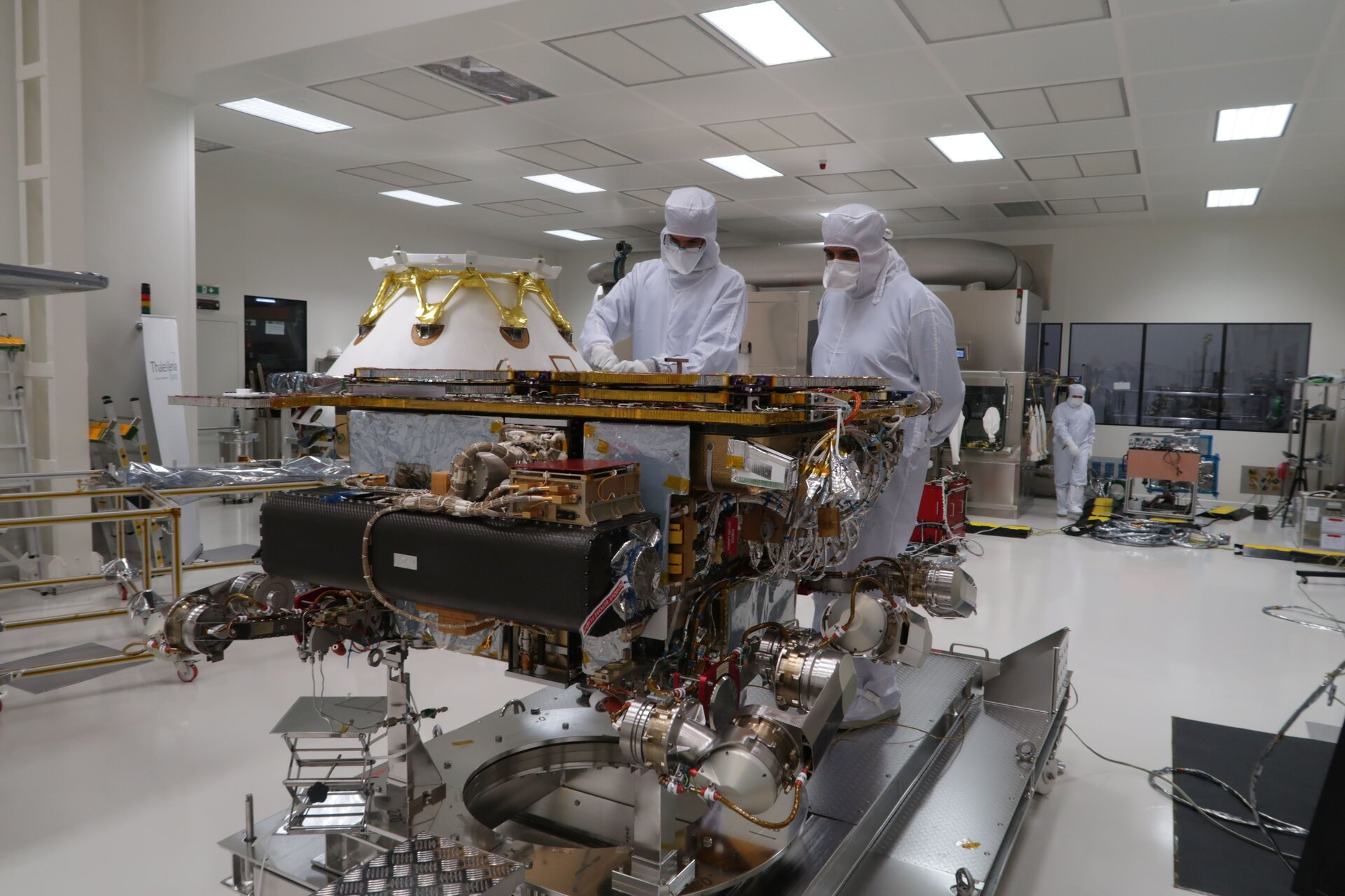 ExoMars moves on