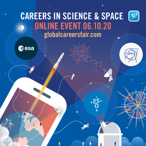 The Global Engineering Careers in Science and Space event take place on 6 October 2020