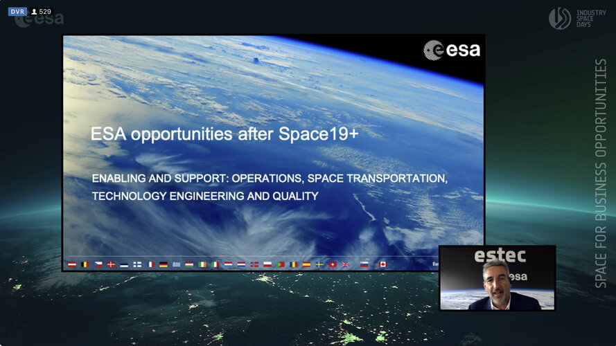 Online Industry Space Days on 16–17 September 2020