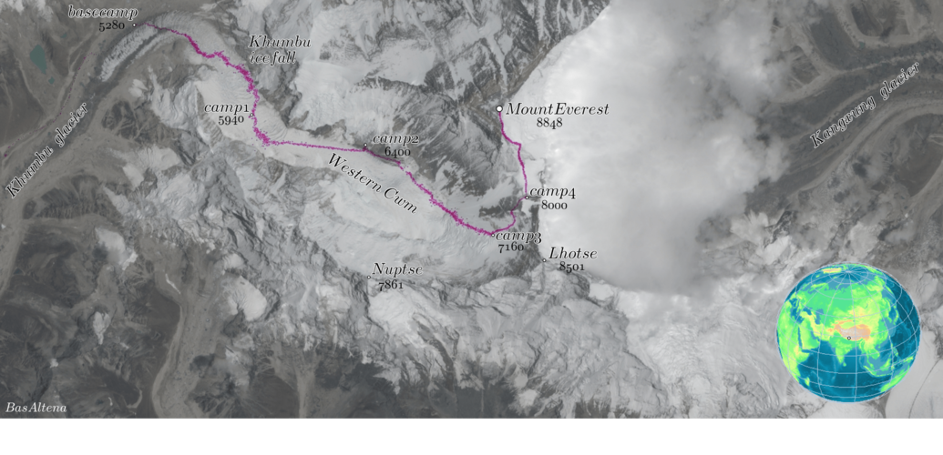 Satellite data help climbers ascend Mount Everest