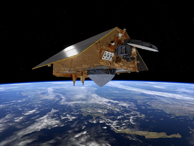 Sentinel-6: charting sea level for Copernicus