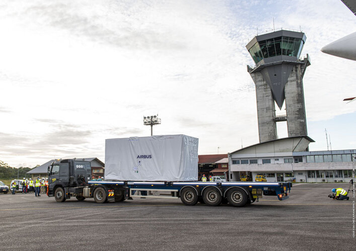 SEOSAT-Ingenio ready for transport to the Guiana Space Centre
