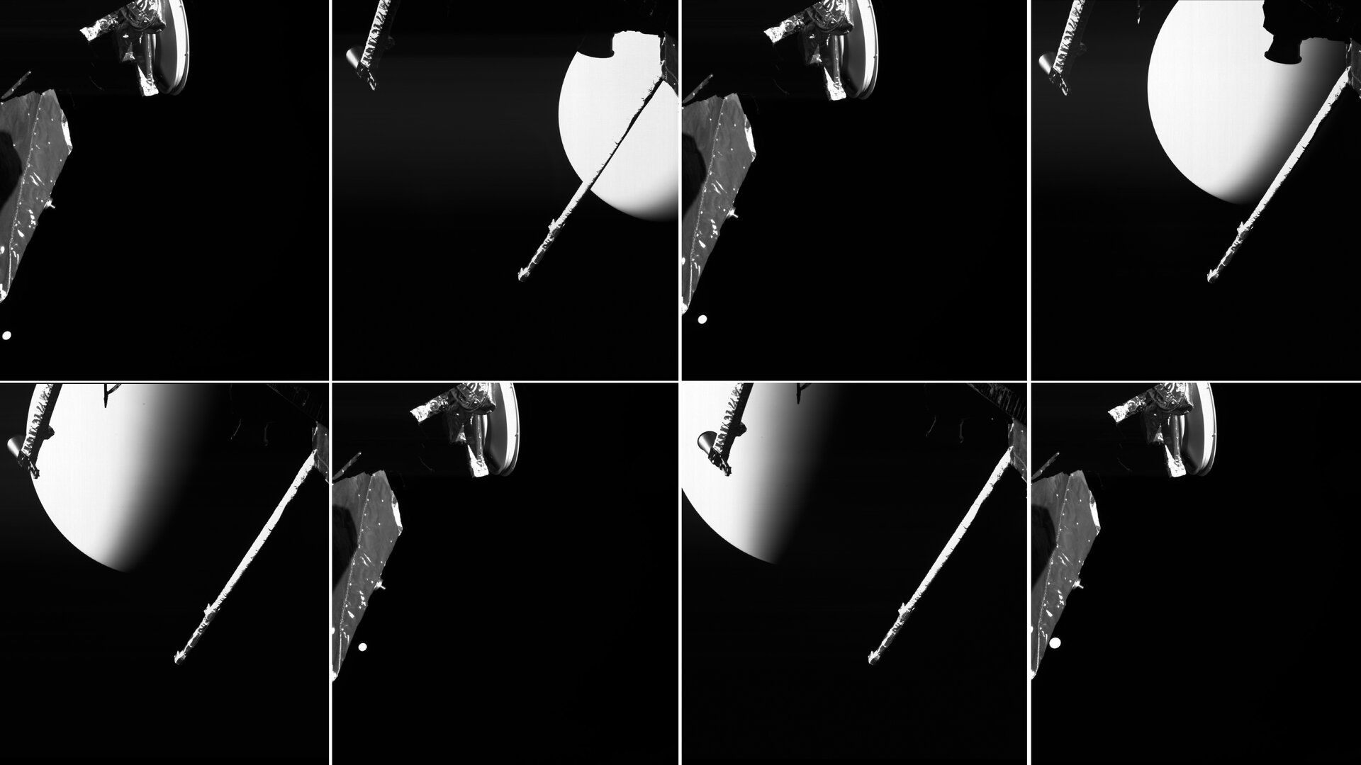 BepiColombo images fly straight into archive