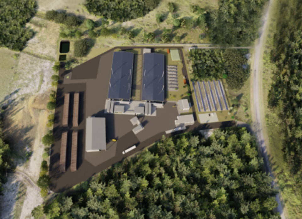 Biomass plant planned at Europe's Spaceport