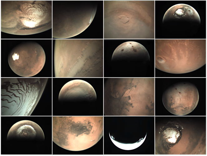 Explore the data behind ESA's Mars webcam
