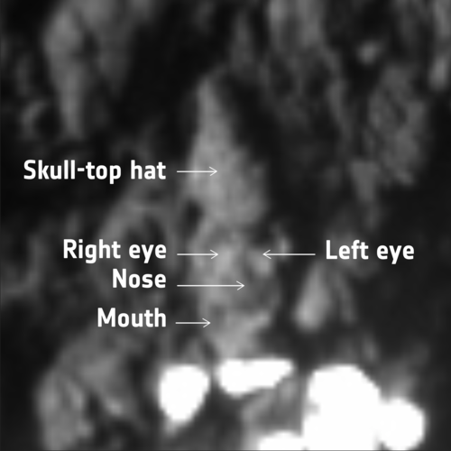 Skull rock annotated
