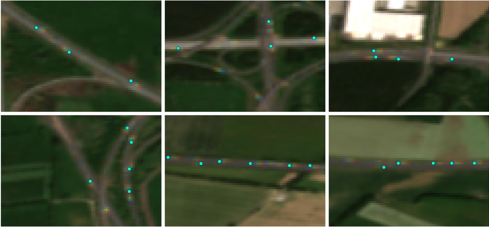 Truck detection using data from Copernicus Sentinel-2