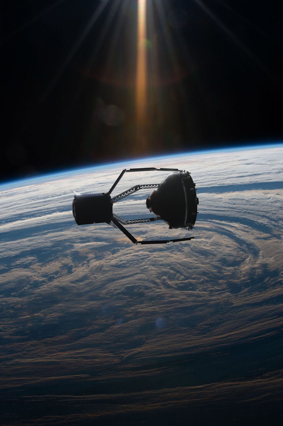 ClearSpace-1 acquisisce l'obiettivo, Vespa