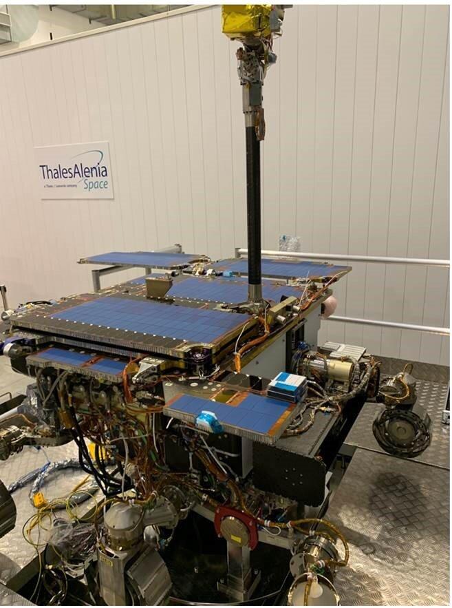 ExoMars rover ground test model