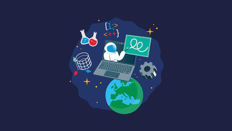ESA Education online trainings key visual