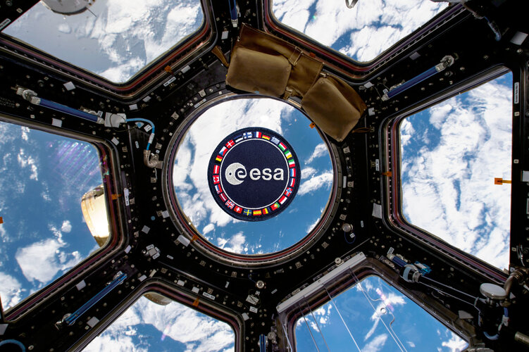 ESA patch floating