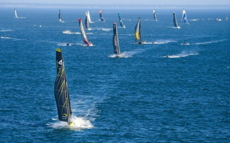 Start of Vendée Globe 2020