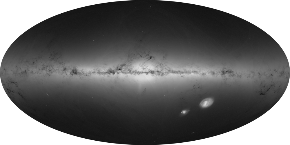The density of stars from Gaia's Early Data Release 3