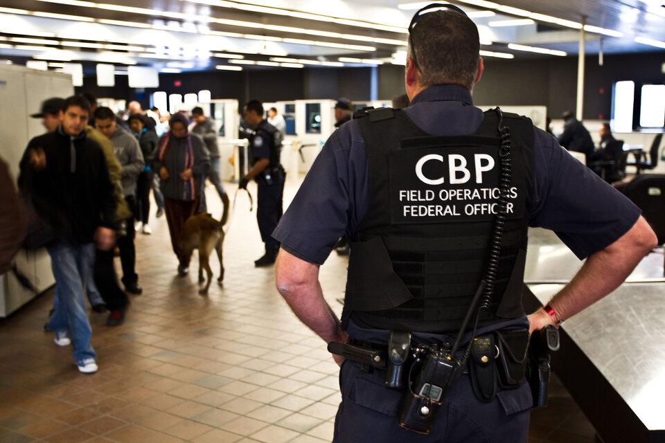 US Customs and Border Protection monitoraggio dei porti di ingresso