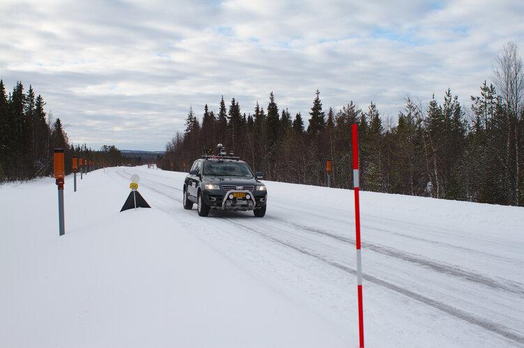 Snowbox test roadway