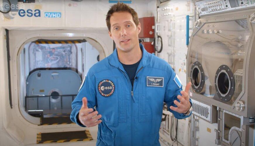 Message de Thomas Pesquet à l'occasion de la nouvelle campagne de sélection d'astronautes de l'ESA.