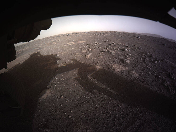 Mars 2020: Succès de l'atterrissage du rover Perseverance