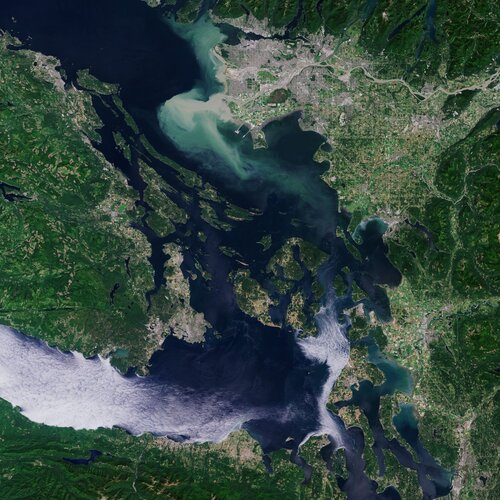 Earth from Space: Vancouver