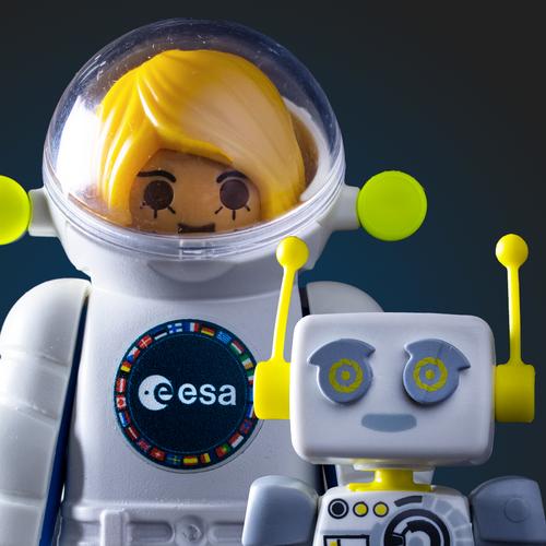 ESA und Playmobil erklären: Wie ist das Leben auf der Internationalen Raumstation, ISS?