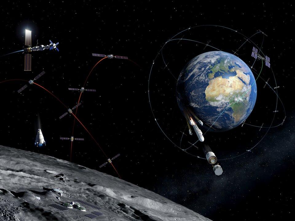 Επέκταση του satnav στη Σελήνη
