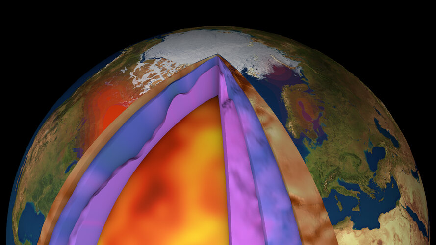 GOCE helps create new model of crust and upper mantle