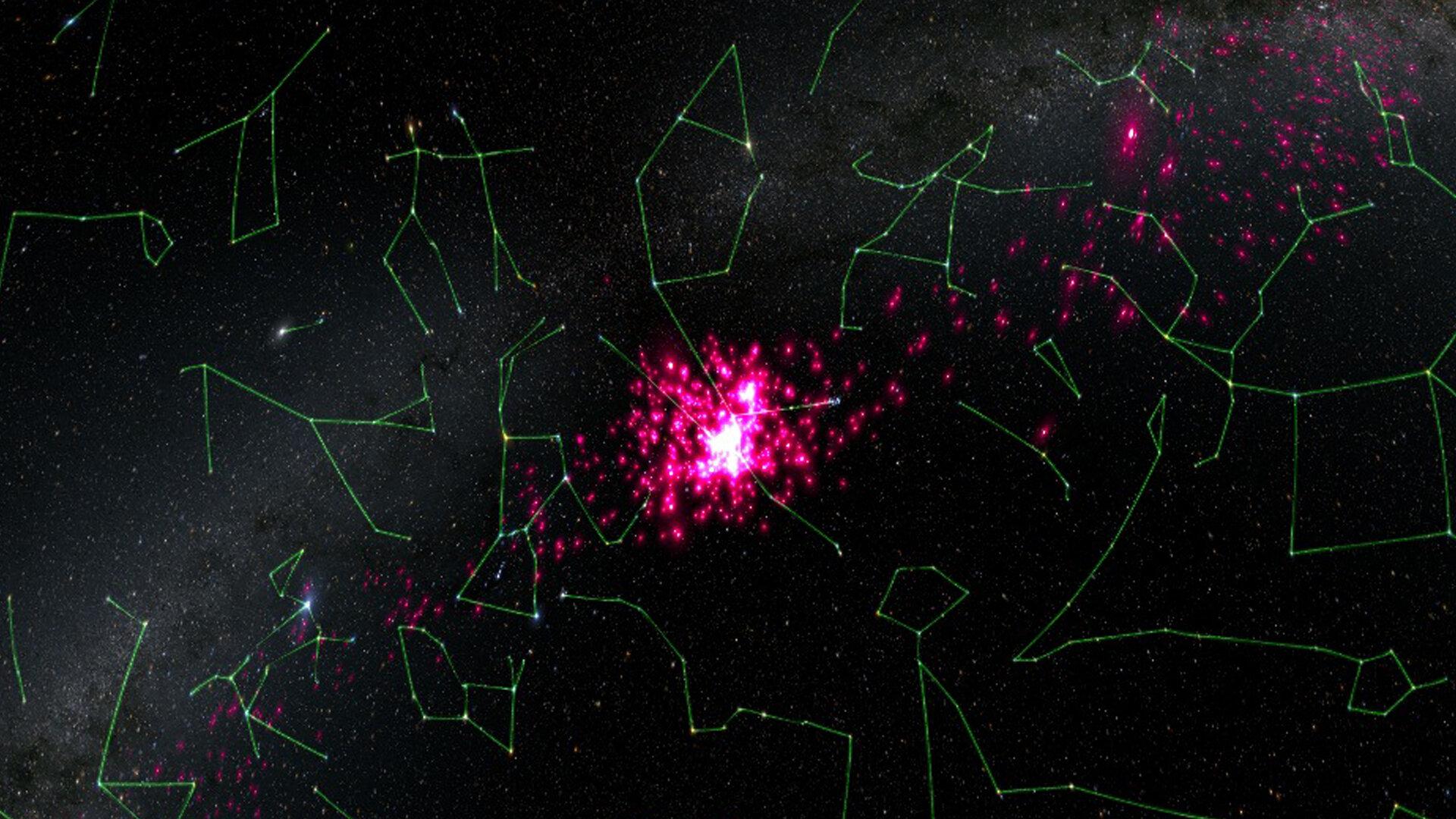 V nejbližší hvězdokupě se děje něco podivného, mohla se srazit s oblakem temné hmoty