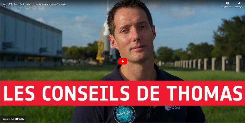 Sélection d'astronautes: quelques astuces de Thomas Pesquet