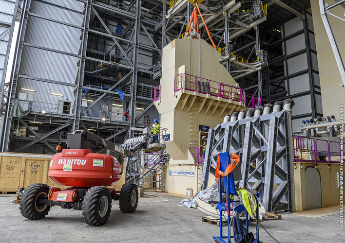 Ariane 6 pre-flight 'plumbing' tests