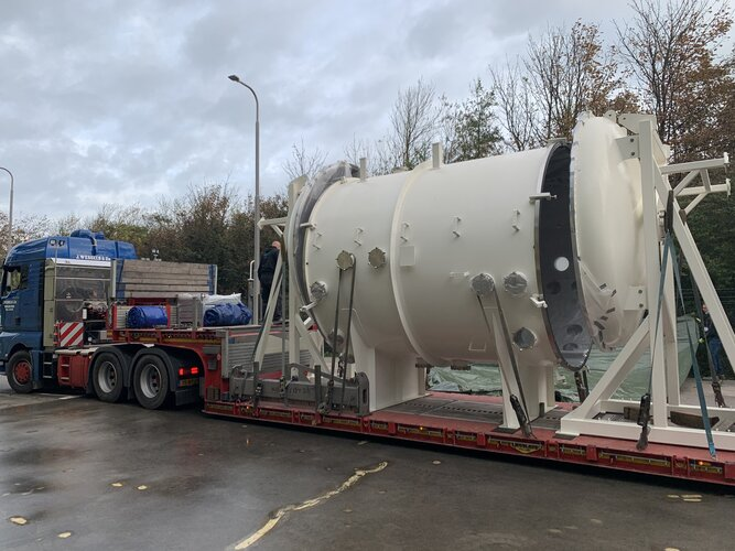 Arrival of world-first test facility