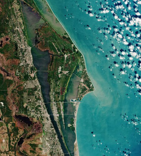 Earth from Space: Space Coast, Florida