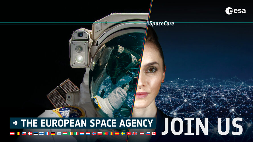 Find your way to space with ESA's astronaut selection