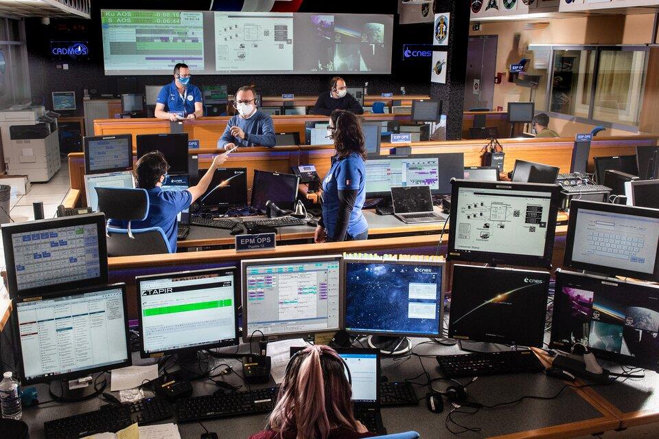 CADMOS control room