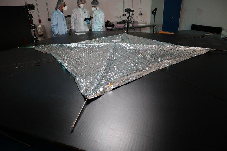 De-Orbit-Segel sollen Weltraum zukünftig sauberer halten
