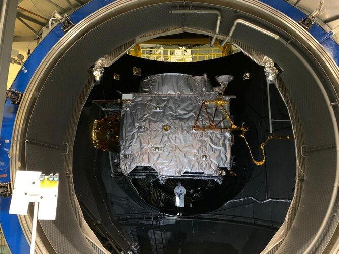 Jupiter mission passes space vacuum test