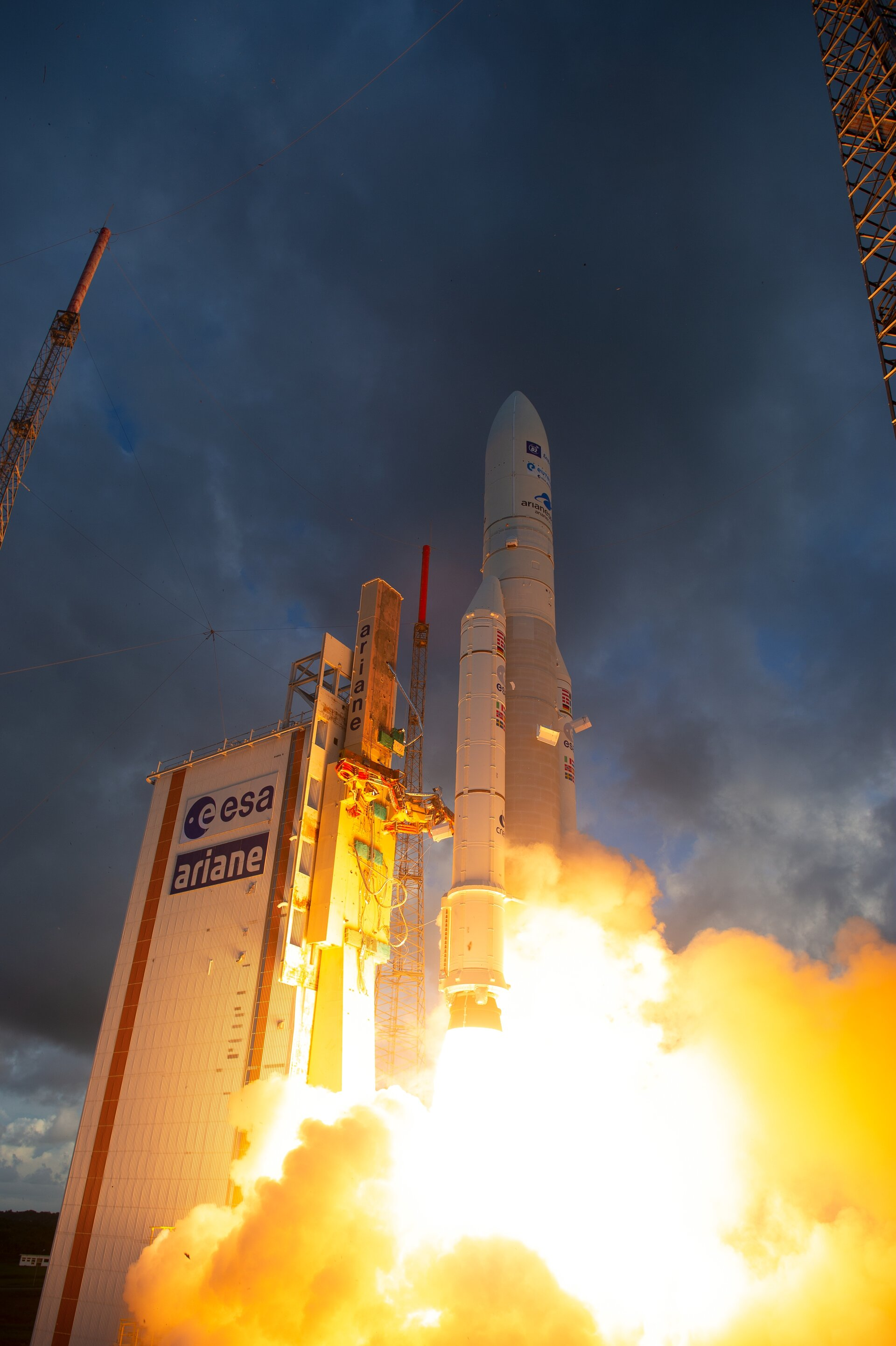 Reprogrammable satellite launched