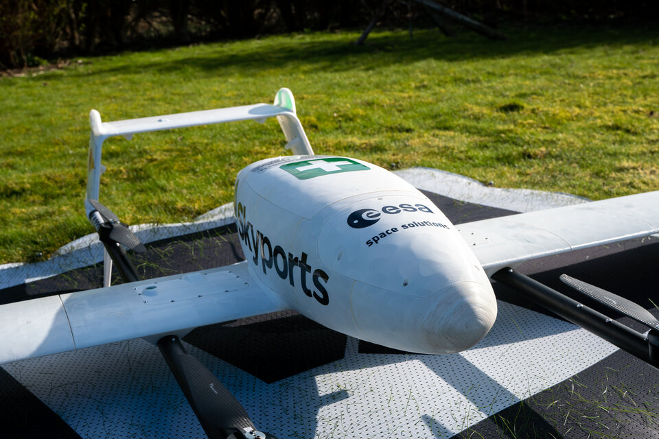 Satellite-enabled drone
