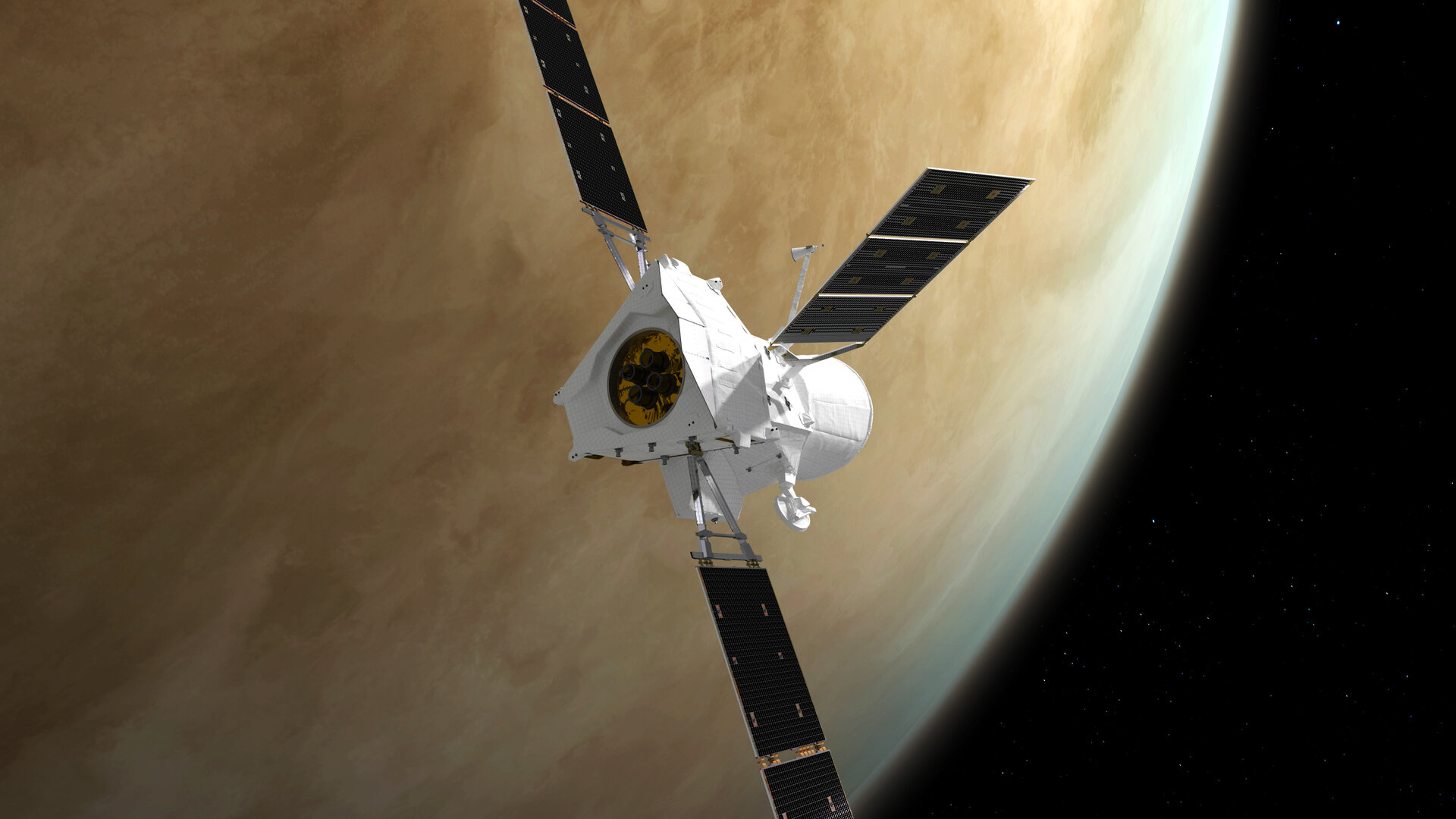 Space news - ESA Venus flyby