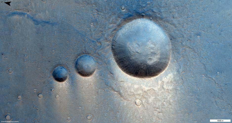 Crater trio